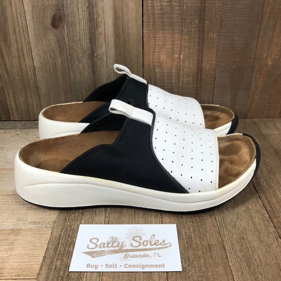 Tatami by Birkenstock Leather Slide Sandals Size 8